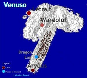 Wardoluf - Now a ghost town, but once a powerful city